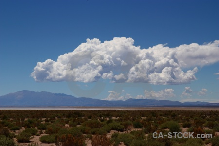 Cloud salinas grandes salt flat salta tour bush.