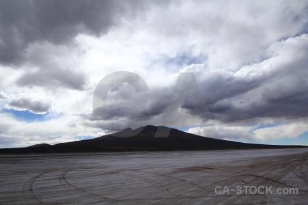 Cloud salt salar de chiguana flat altitude.