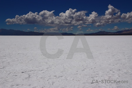 Cloud salta tour salt flat landscape mountain.