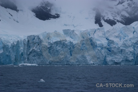 Cloud sea astudillo glacier antarctica cruise sky.