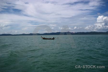 Cloud sea southeast asia water vehicle.