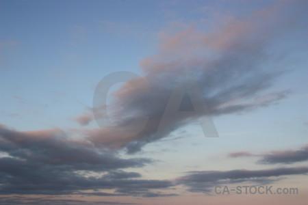 Cloud sky.