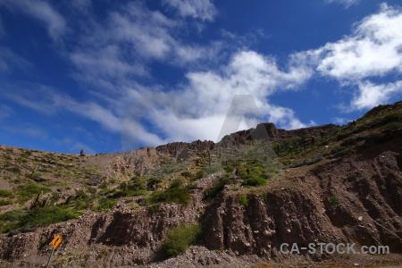 Cloud sky argentina mountain south america.