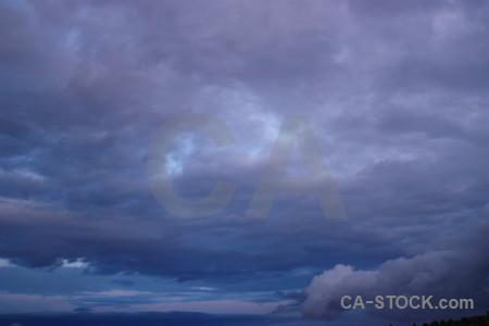 Cloud sky blue.