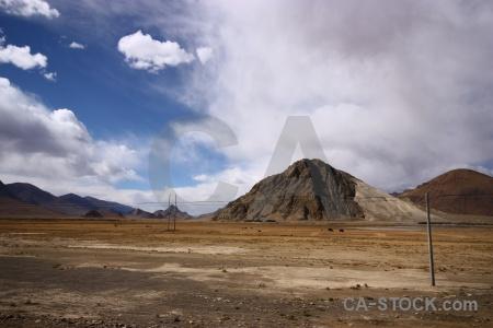 Cloud sky friendship highway desert arid.