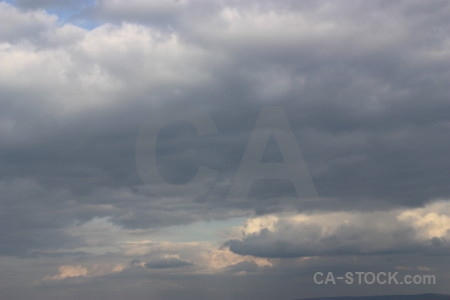 Cloud sky gray.