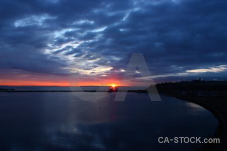 Cloud sky sunrise blue sunset.