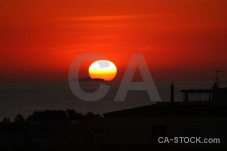 Cloud sky sunset spain sunrise.