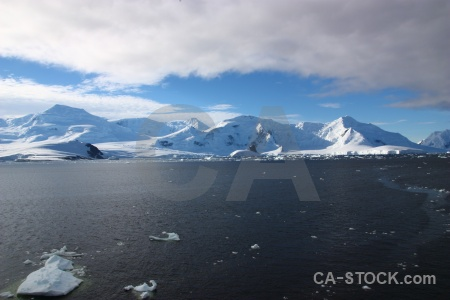 Cloud south pole sky adelaide island antarctic peninsula.