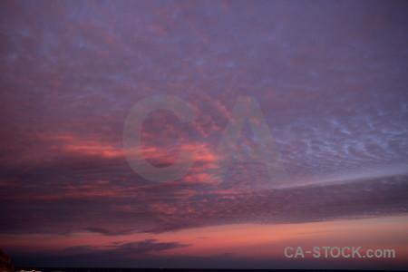 Cloud spain sky sunrise europe.