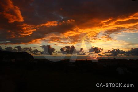 Cloud spain sky sunrise sunset.