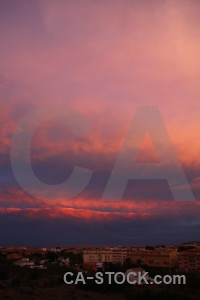 Cloud sunrise javea spain sunset.
