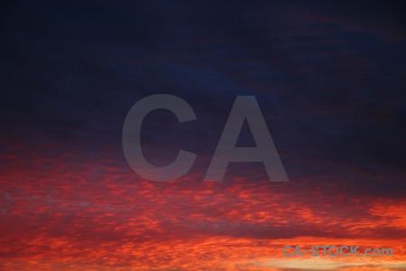 Cloud sunrise sky javea spain.