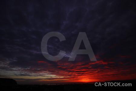 Cloud sunset black sky sunrise.