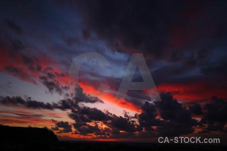 Cloud sunset sky spain europe.