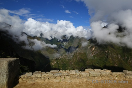 Cloud unesco peru south america andes.