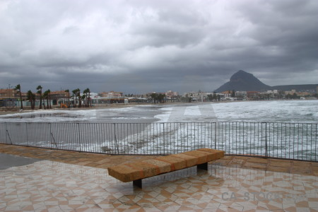 Cloud white javea wave europe.