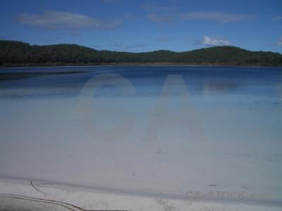 Coast blue landscape.
