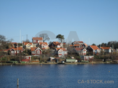 Coast building europe village karlskrona.