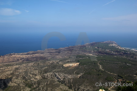Coast cap san antoni montgo climb europe javea.