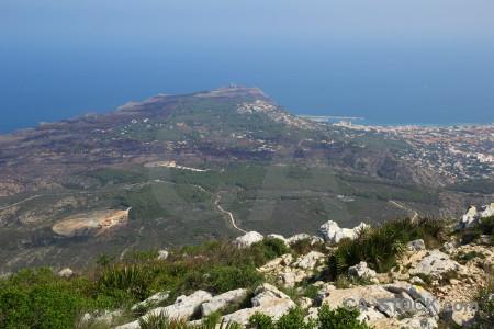 Coast europe spain montgo climb la plana.