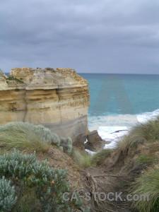 Coast landscape.