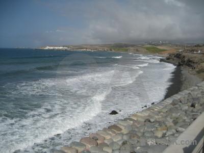 Coast water landscape sea beach.