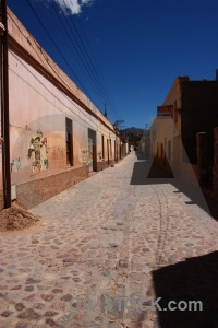 Cobble south america argentina building humahuaca.