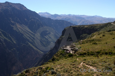 Colca valley south america sky mountain andes.