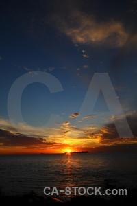Colonia del sacramento south america sun sea sky.