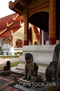 Column asia buddhist chiang mai southeast.