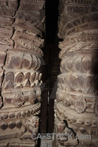 Column buddhism pillar carving asia.
