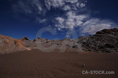 Cordillera de la sal cloud atacama desert chile valle luna.