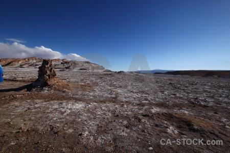 Cordillera de la sal cloud san pedro atacama rock desert.