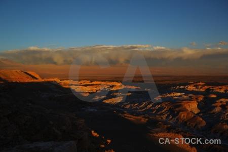 Cordillera de la sal cloud valle luna chile sky.
