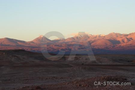 Cordillera de la sal licancabur stratovolcano cloud sky.