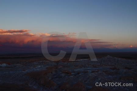 Cordillera de la sal mountain atacama desert sky cloud.
