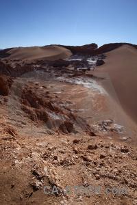 Cordillera de la sal rock chile salt sand.