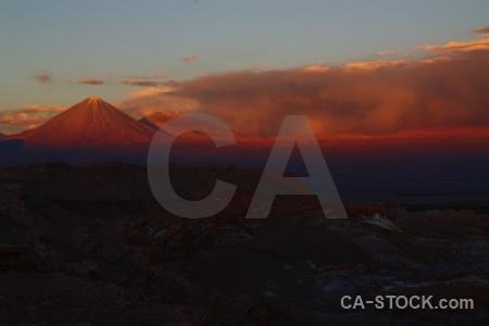 Cordillera de la sal sky juriques valle luna licancabur.