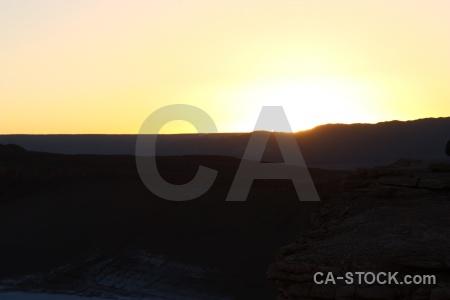 Cordillera de la sal south america mountain san pedro atacama sunrise.