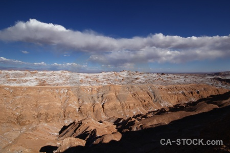 Cordillera de la sal valley of the moon atacama desert landscape salt.
