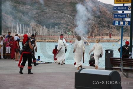 Costume beach europe moors musket.