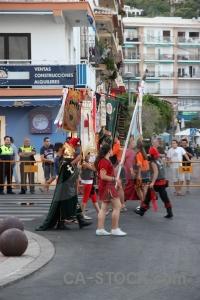Costume javea fiesta moors flag.