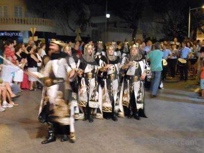 Costume moors christian fiesta javea.