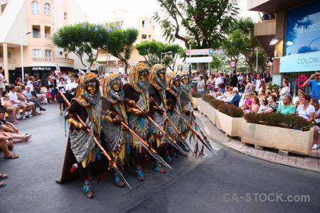 Costume moors spear christian javea.