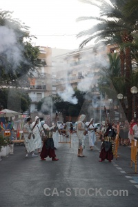 Costume smoke person moors christian.