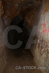 Cova de laigua montgo climb javea cave spain.