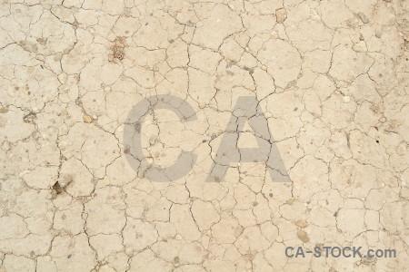 Crack soil texture.