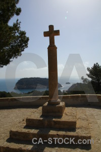 Cross javea sky spain europe.