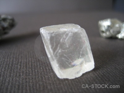 Crystal object gray.